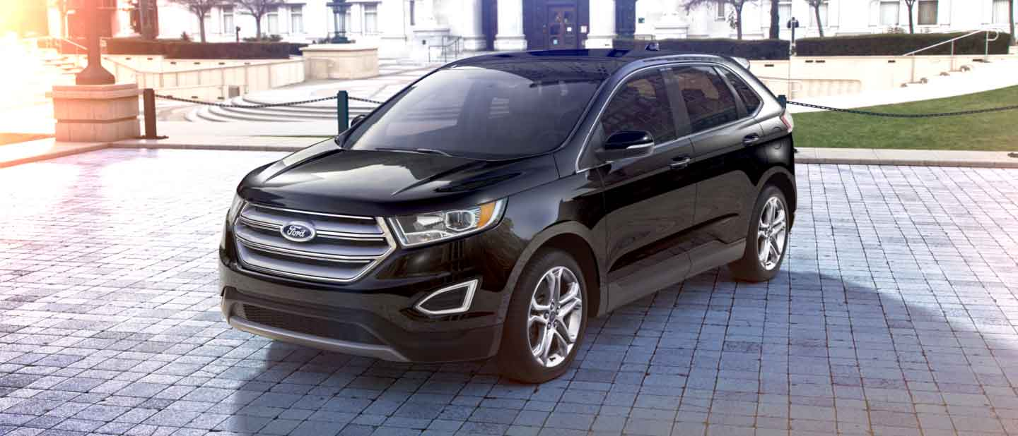 Ford Edge Shadow Black Exterior Color