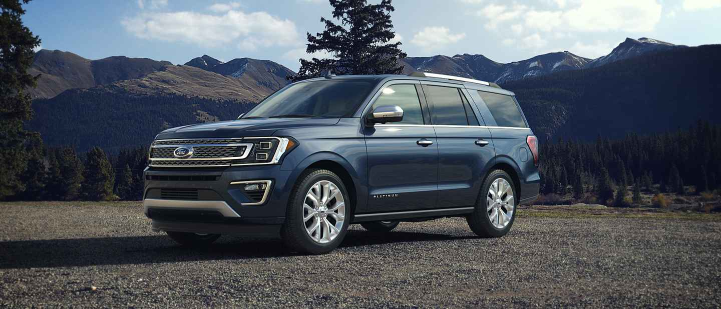 2018 Ford Expedition Blue Exterior Color
