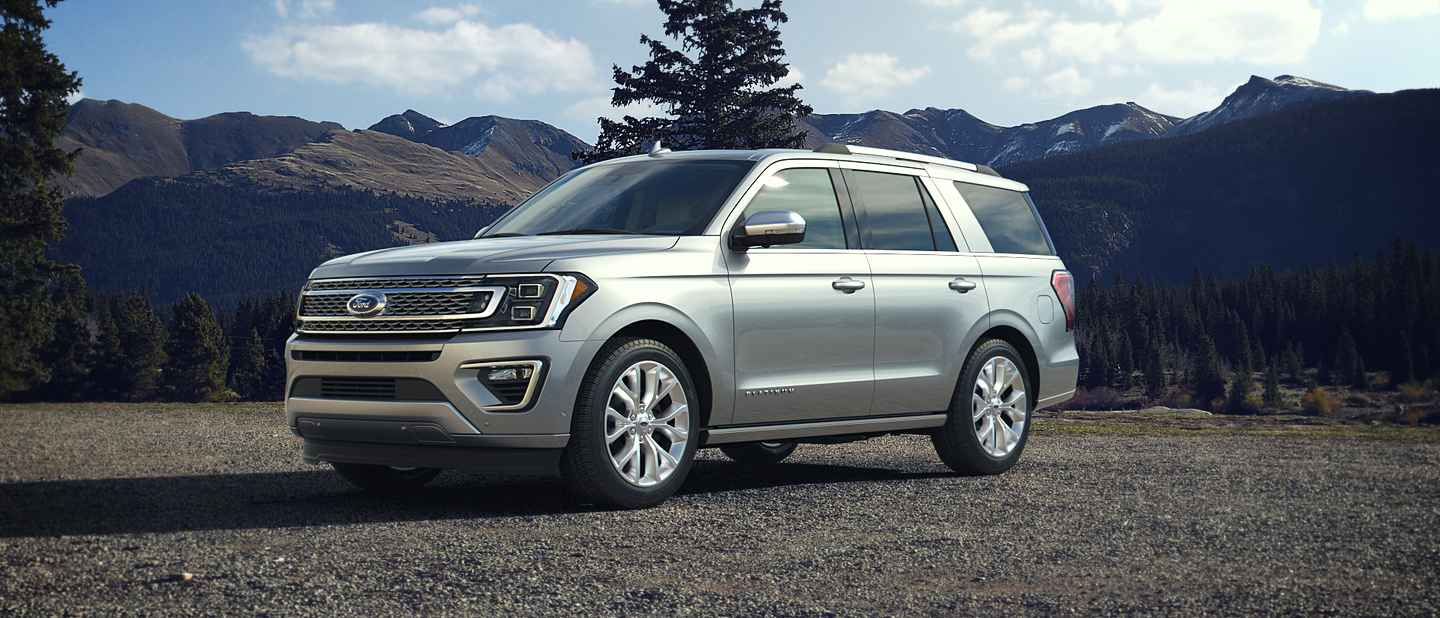 2018 Ford Expedition Ingot Silver Exterior Color