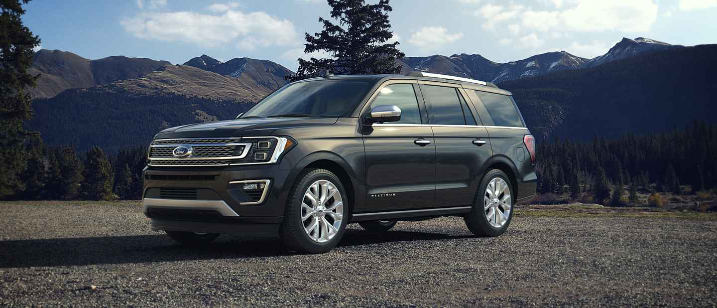2018 Ford Expedition Magnetic Exterior Color