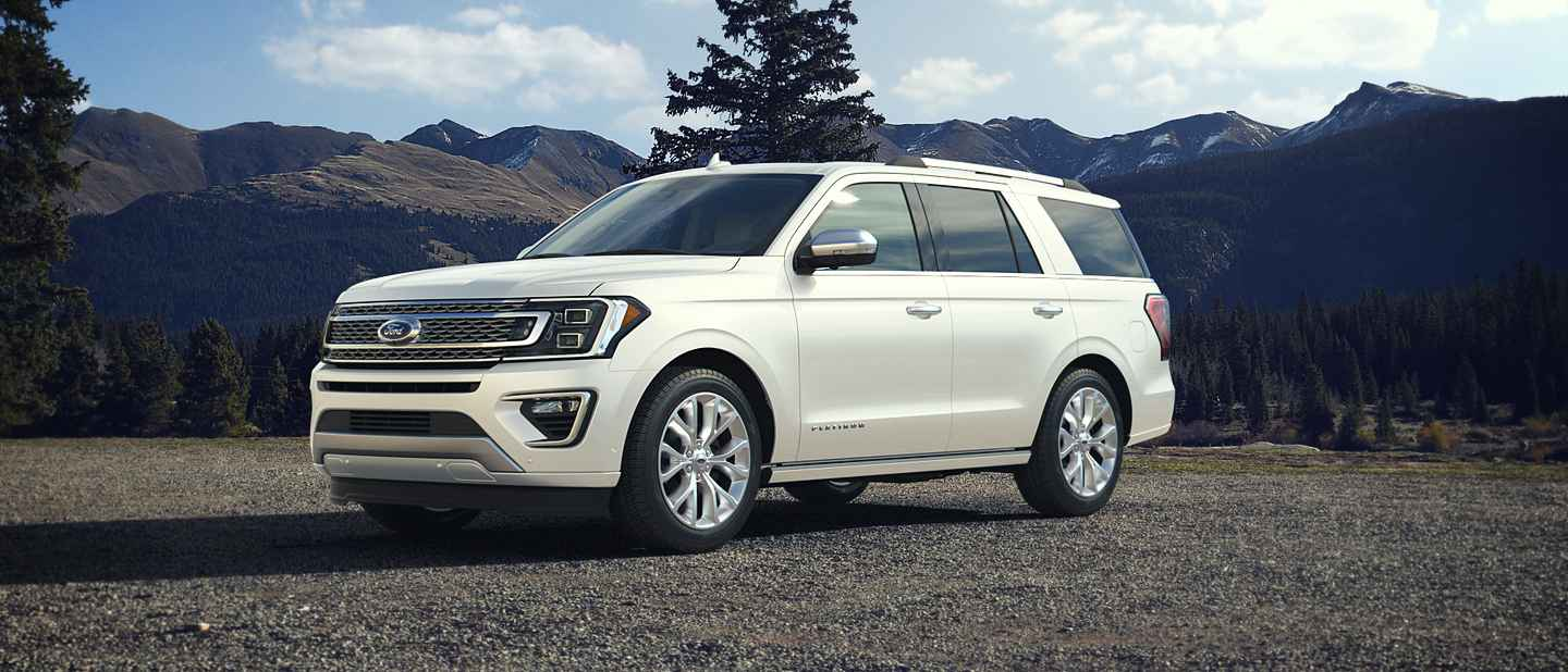 2018 Ford Expedition Oxford White Exterior Color