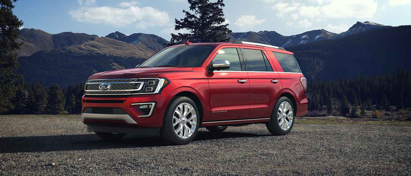 2018 Ford Expedition Ruby Red Exterior Color
