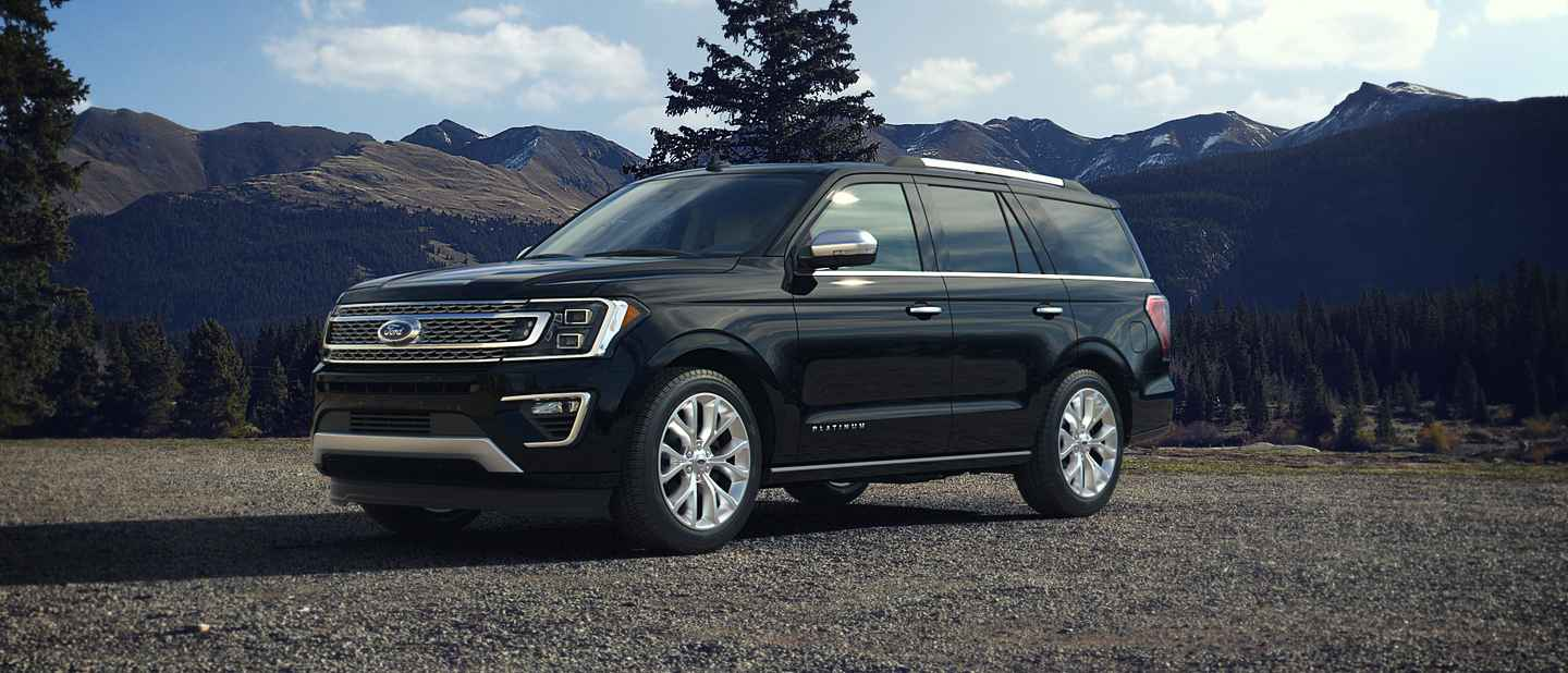 2018 Ford Expedition Shadow Black Exterior Color