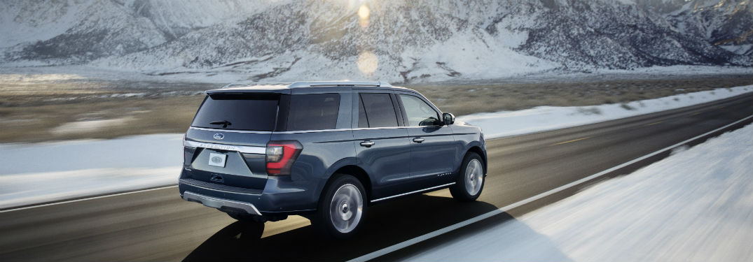 2018 Ford Expedition rear side exterior