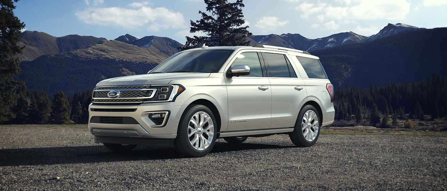 2018 ford expedition white platinum exterior color