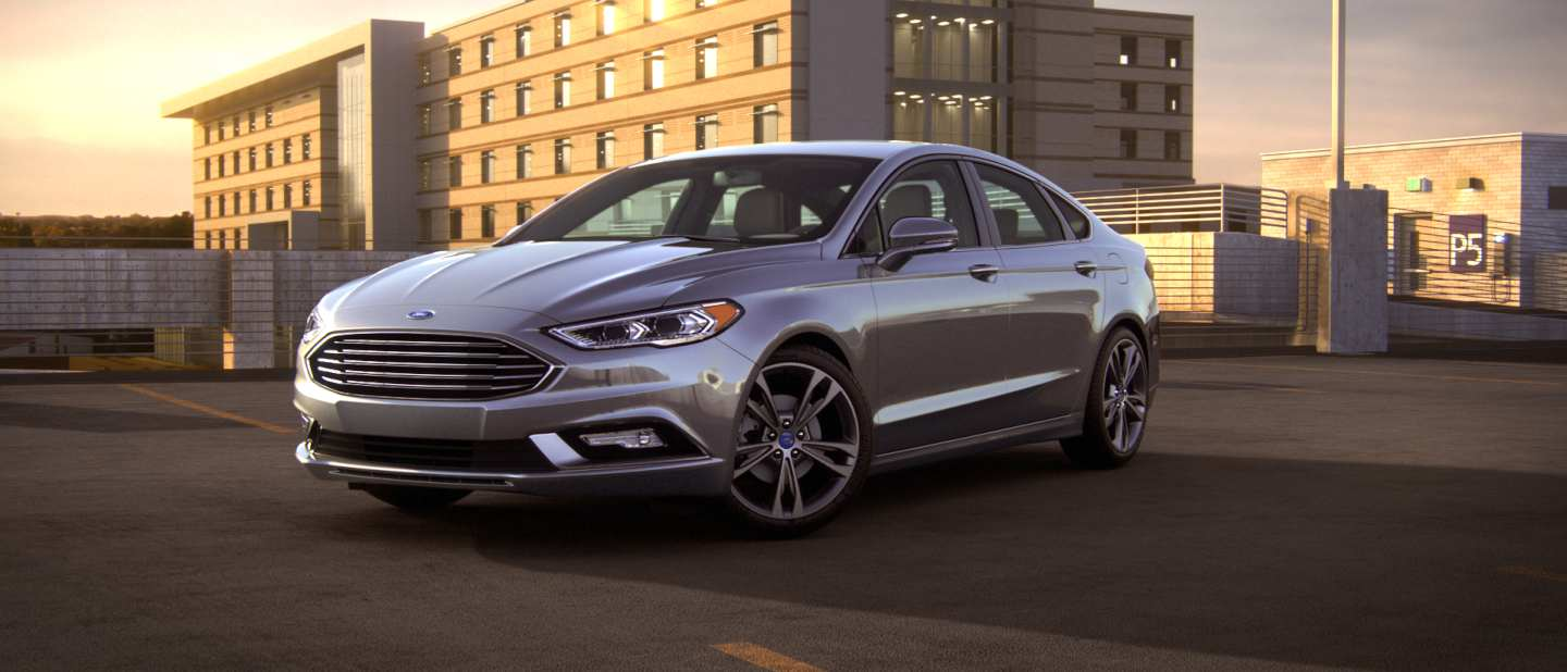 Ford Fusion White And Black >> 2018 Ford Fusion Exterior Color Option Gallery