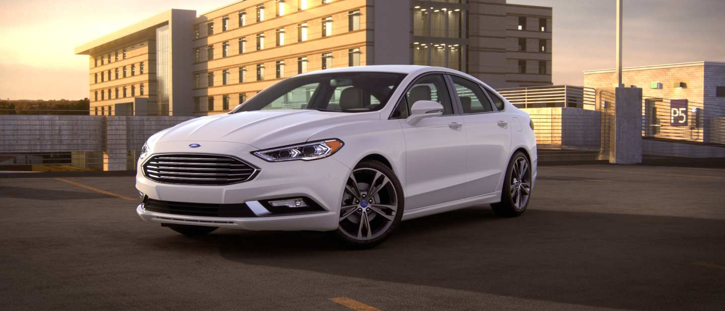 2018 Ford Fusion Exterior Color Option Gallery