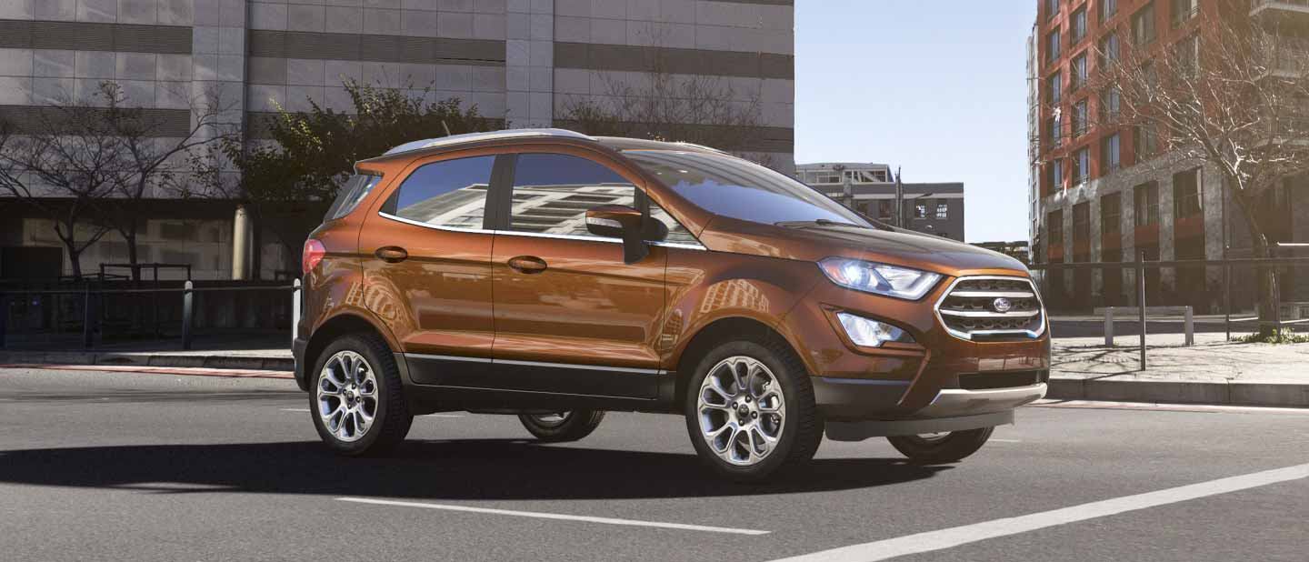 2018 Ford EcoSport Canyon Ridge Exterior Color