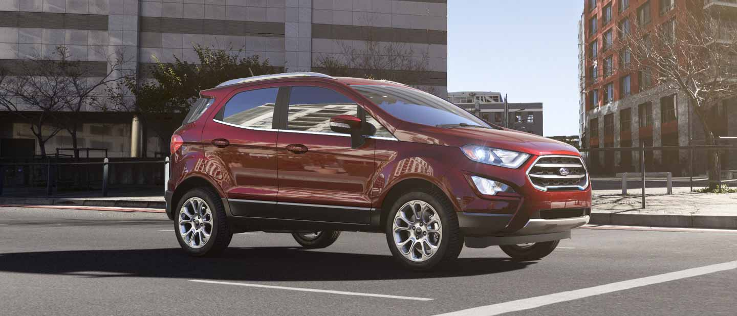 2018 Ford EcoSport Ruby Red Exterior Color
