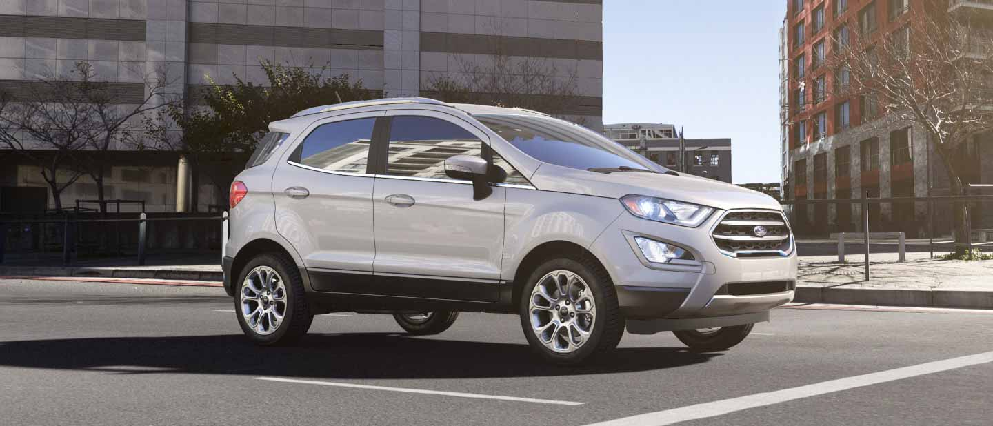 2018 Ford EcoSport White Platinum Exterior Color