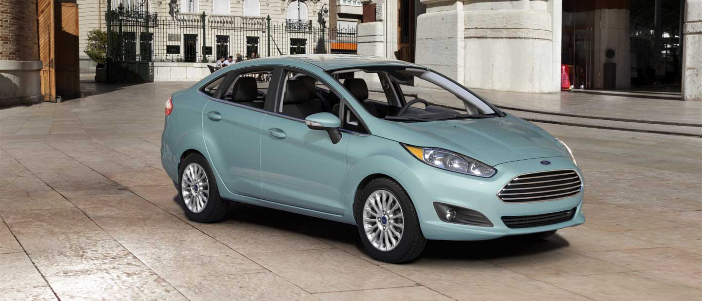 2018 Ford Fiesta Bohai Bay Mint Exterior Color