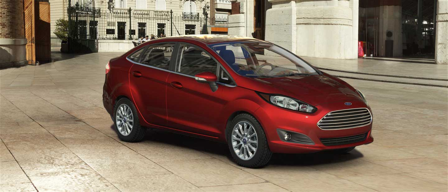 2018 Ford Fiesta Hot Pepper Red Exterior Color