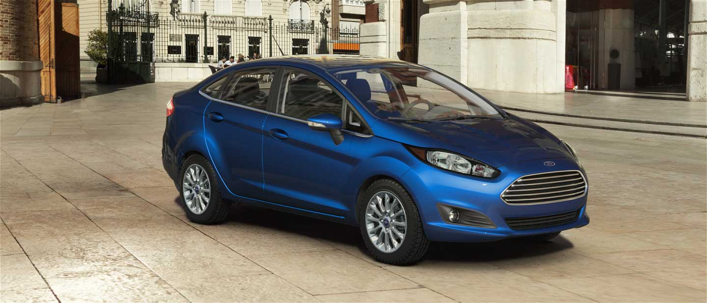 2018 Ford Fiesta Lightning Blue Exterior Color