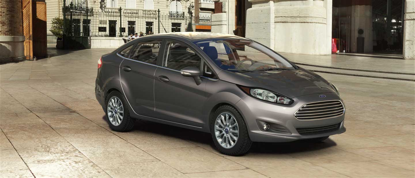 2018 Ford Fiesta Magnetic Exterior Color