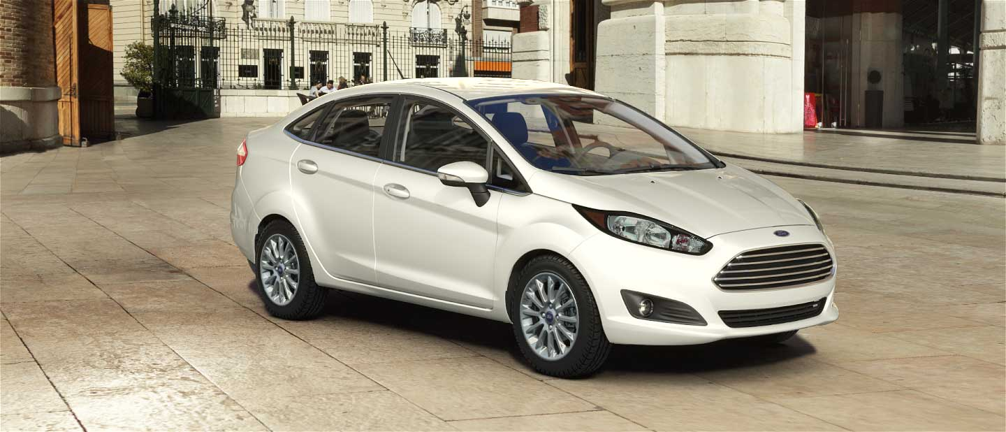 2018 Ford Fiesta Oxford White Exterior Color