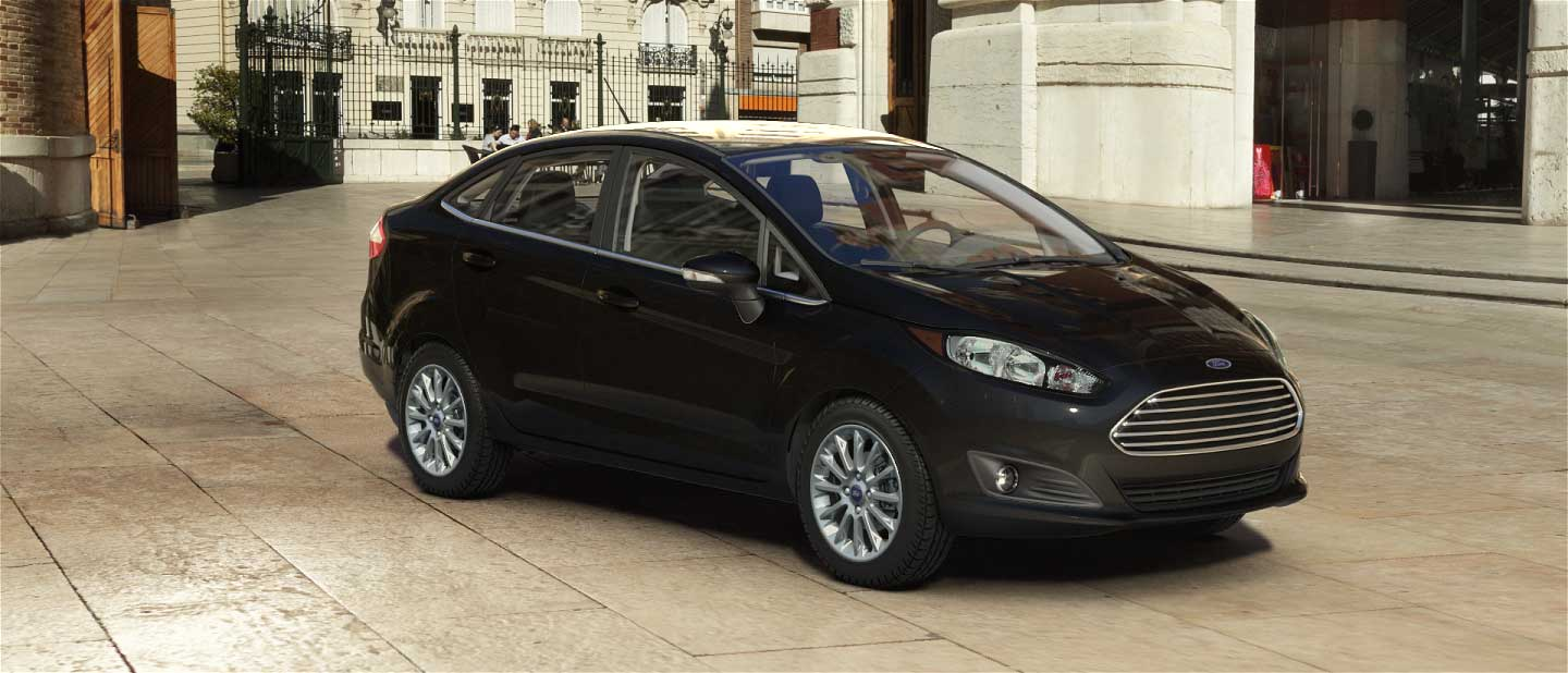 2018 Ford Fiesta Shadow Black Exterior Color