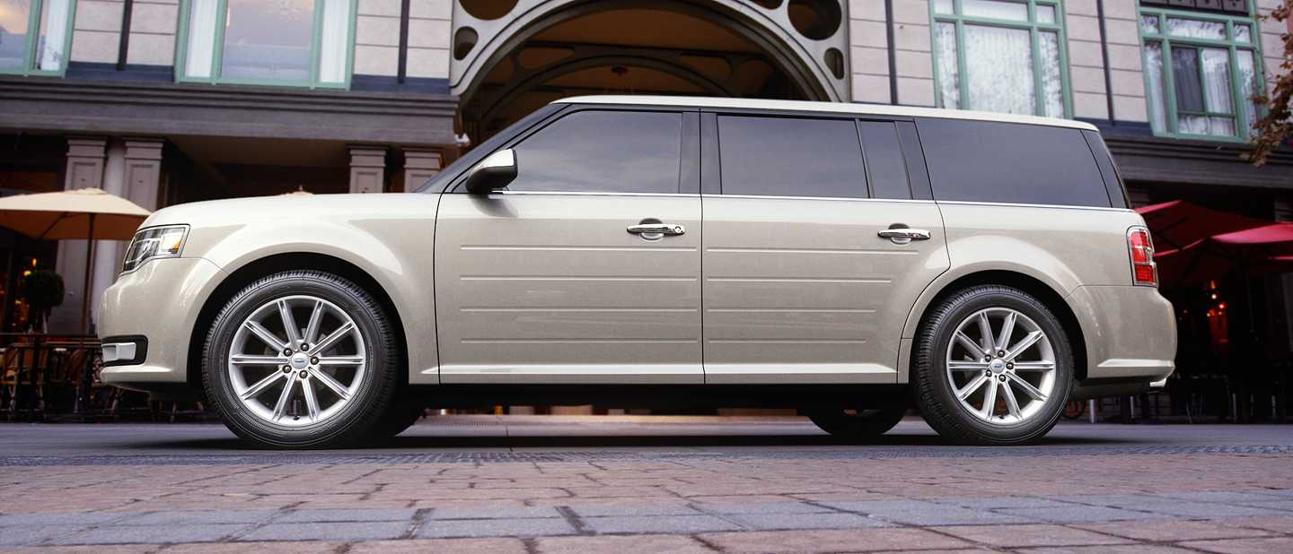 2018 Ford Flex White Gold Exterior Color