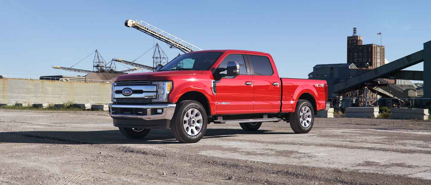 2018 Ford Super Duty Race Red Exterior Color
