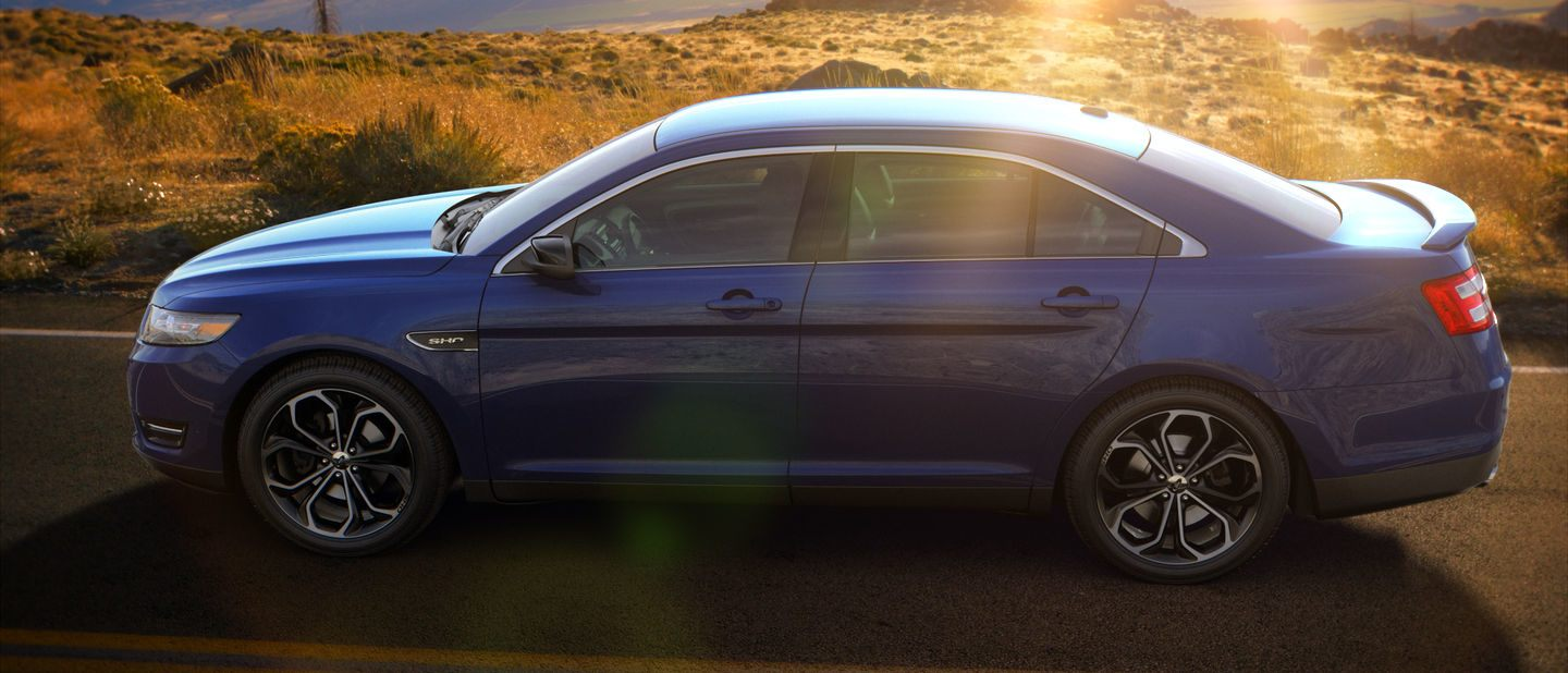 2018 Ford Taurus Blue Exterior Color