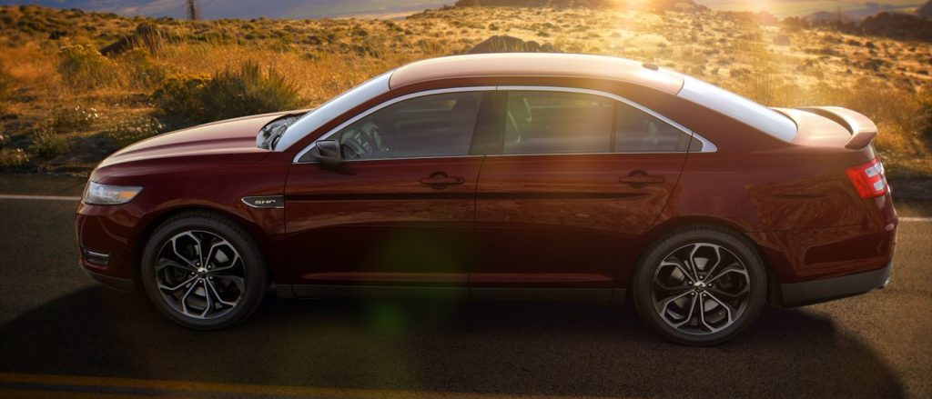 10 Best Certified Pre Owned Luxury Cars Under 30 000: 2018-Ford-Taurus-Burgundy-Velvet-Exterior-Color_o