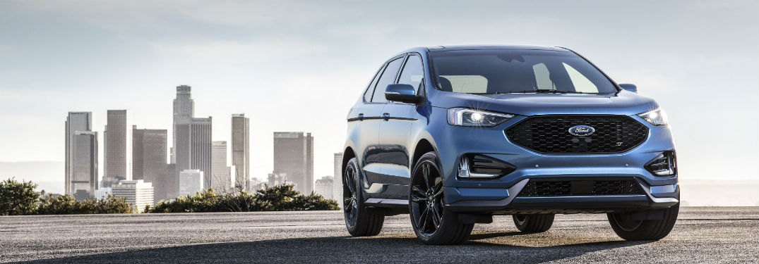 What is the All-New Performance-Enhanced 2019 Ford Edge ST?