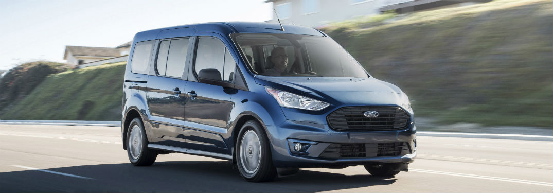 How has Ford Updated the Safety and Technology Features of the New Transit Connect Wagon to Make It More than Just a Commercial Vehicle?