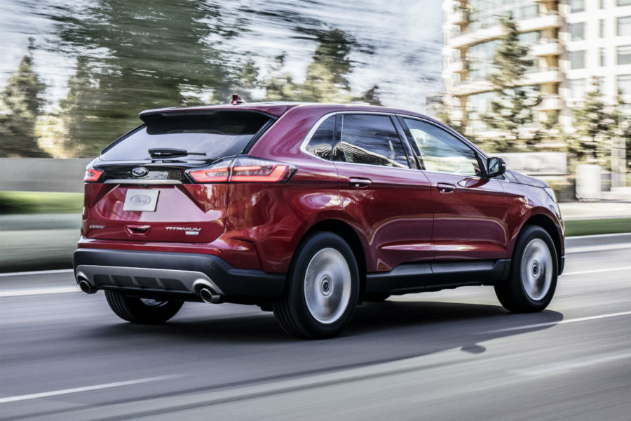 How Many Engine Choices Are Available For The All New  Ford Edge Lineup At Brandon Ford In Tampa Fl