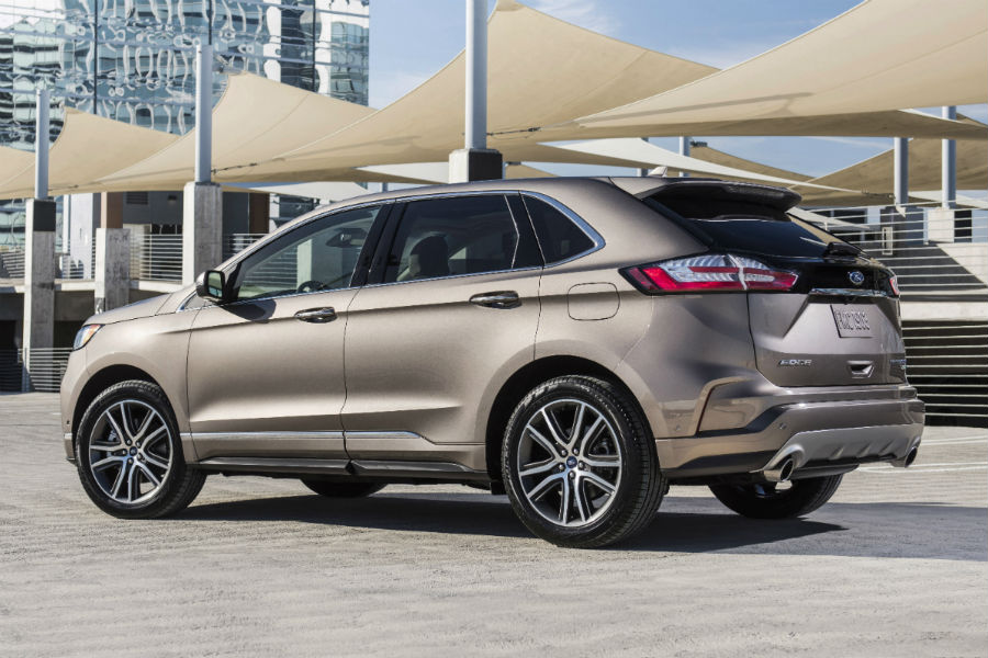 2019 Ford Edge Lineup vs 2018 Ford Edge Lineup