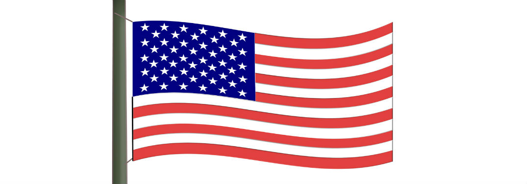 animated American flag