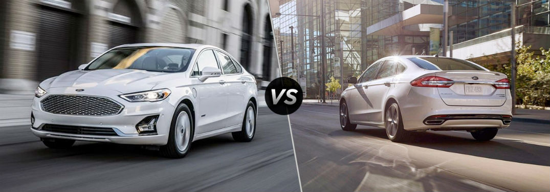 2019 Ford Fusion versus 2018 Ford Fusion
