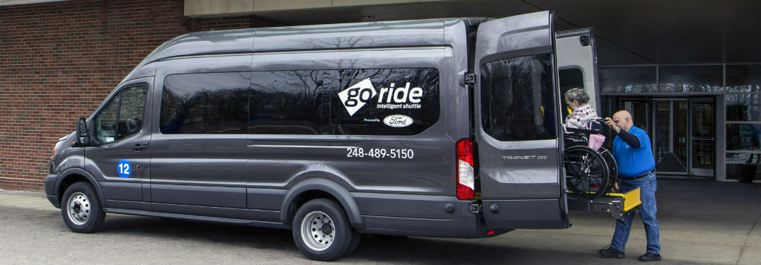 Ford GoRide Helping Patients with Non-Emergency Medical Needs Get to Their Appointments