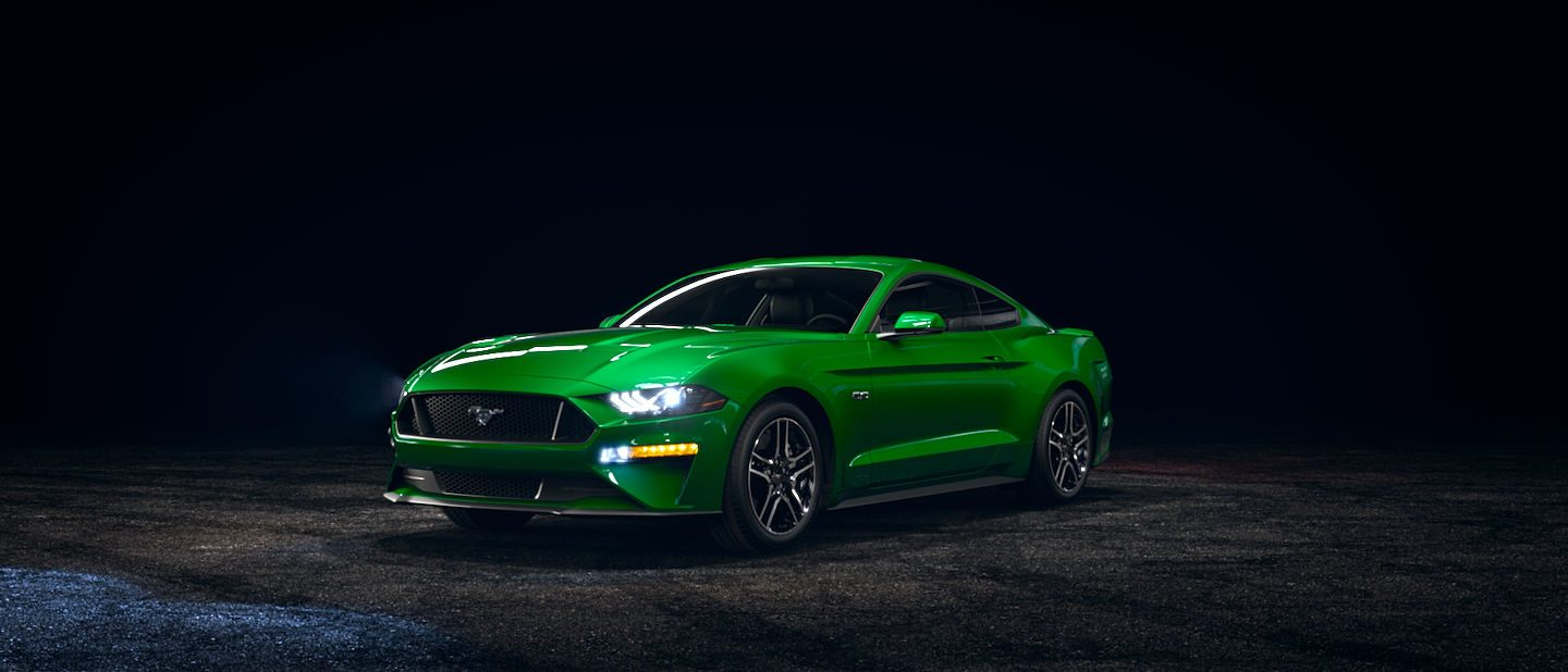2019 Ford Mustang Need for Green Exterior Color