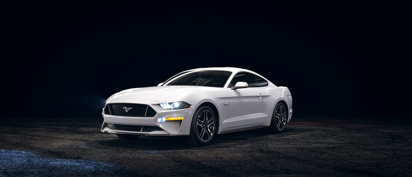 2019 Ford Mustang Oxford White Exterior Color