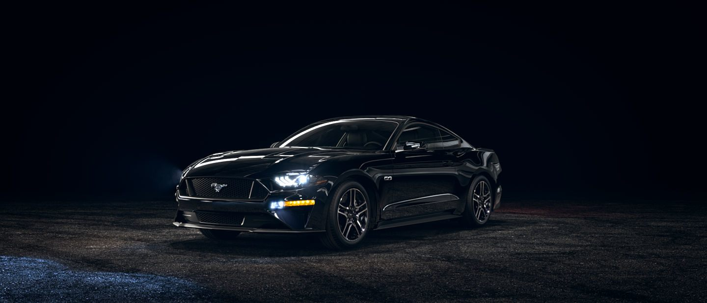 2019 Ford Mustang Shadow Black Exterior Color