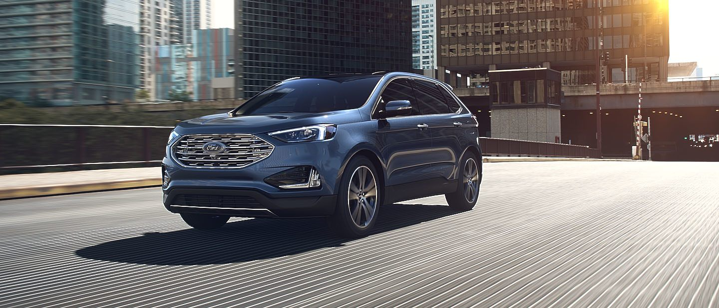 2019 Ford Edge Blue Metallic Exterior Color
