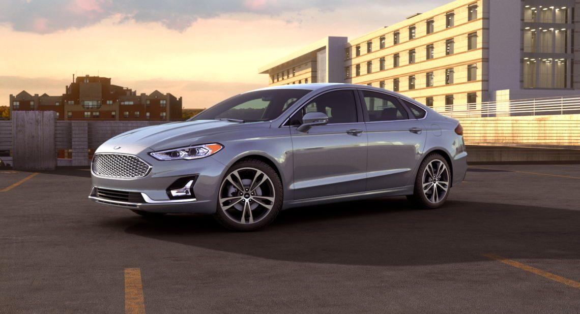 2019 Ford Fusion Ingot Silver Exterior Color