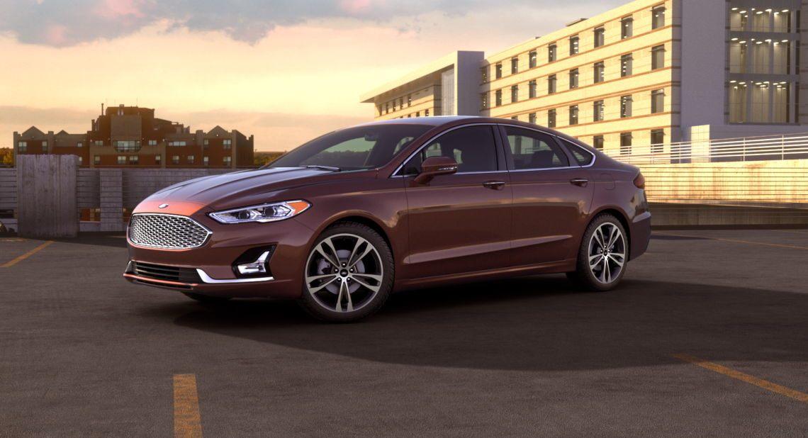 2019 Ford Fusion Rich Copper Exterior Color