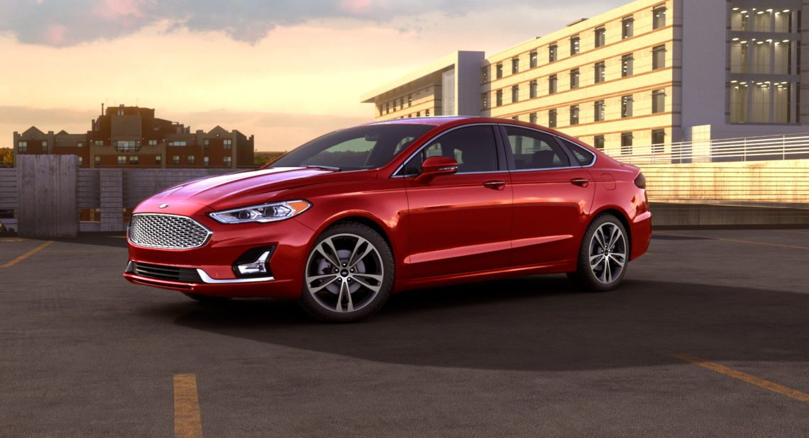 2019 Ford Fusion Ruby Red Exterior Color O Brandon Ford
