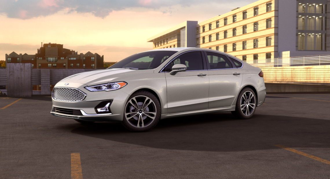 Ford Fusion 2018 White New Car Update 2020