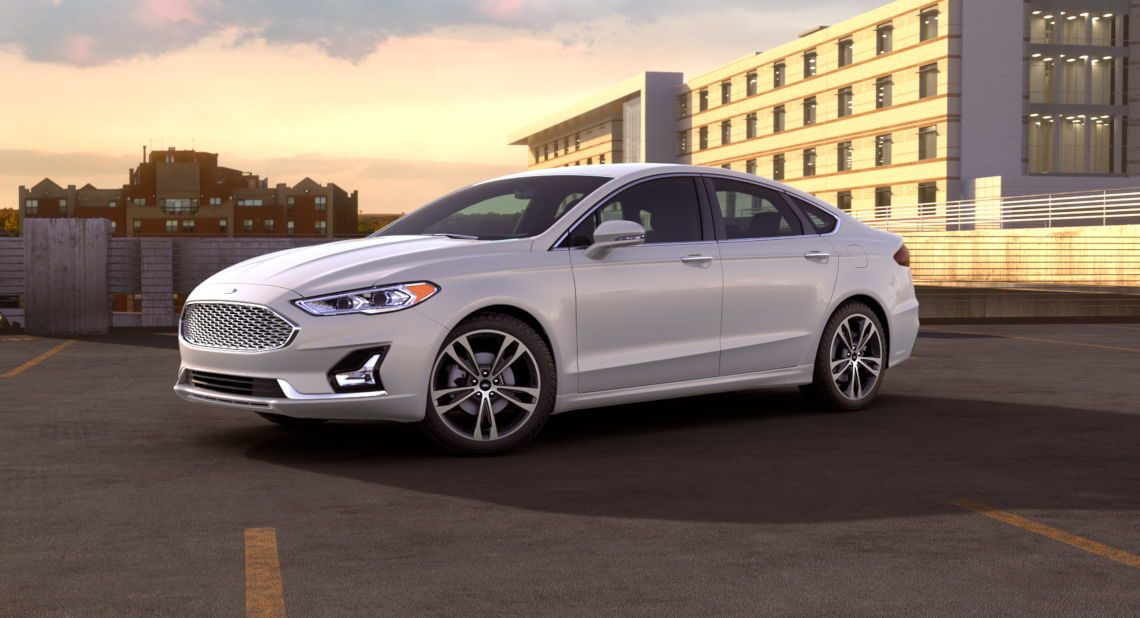 exterior color options for the 2019 ford fusion lineup