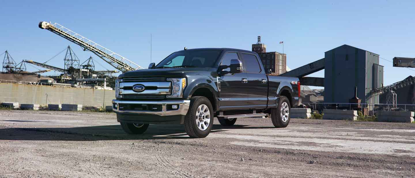 2019 Ford Super Duty Agate Black Exterior Color