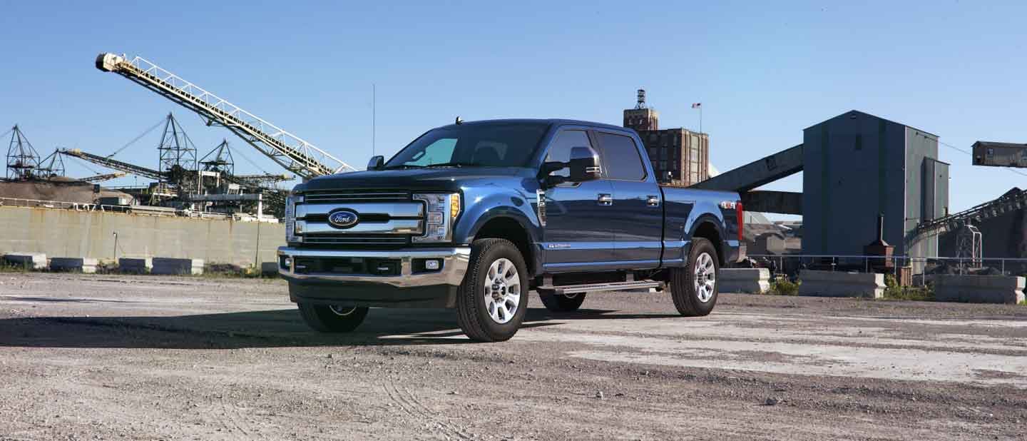 2019 Ford Super Duty Blue Jeans Exterior Color