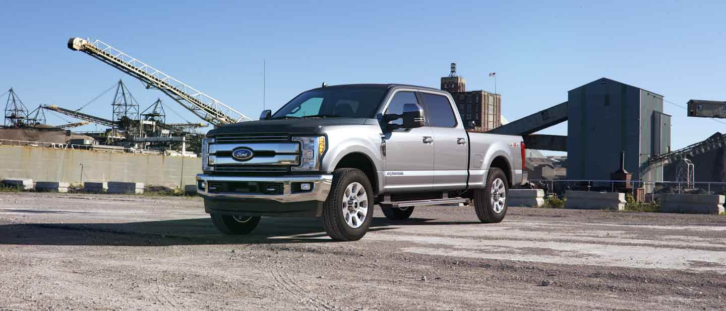 2019 Ford Super Duty Ingot Silver Exterior Color