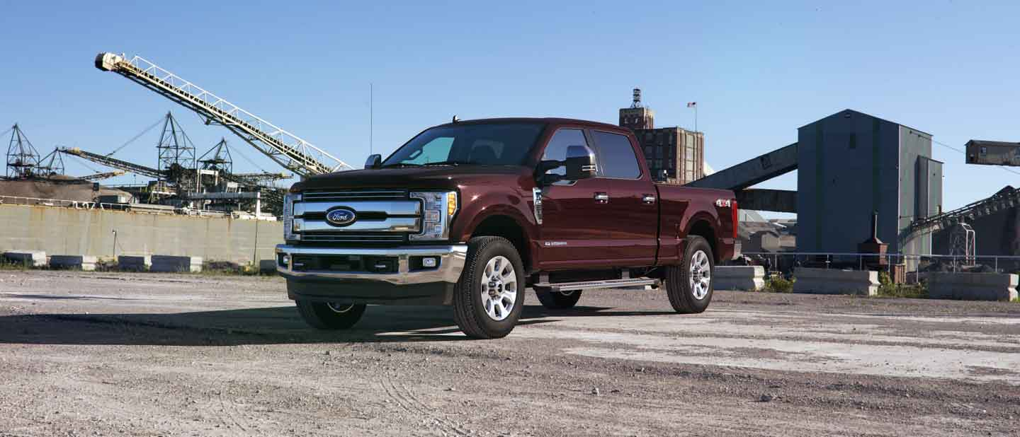 2019 Ford Super Duty Magma Red Exterior Color