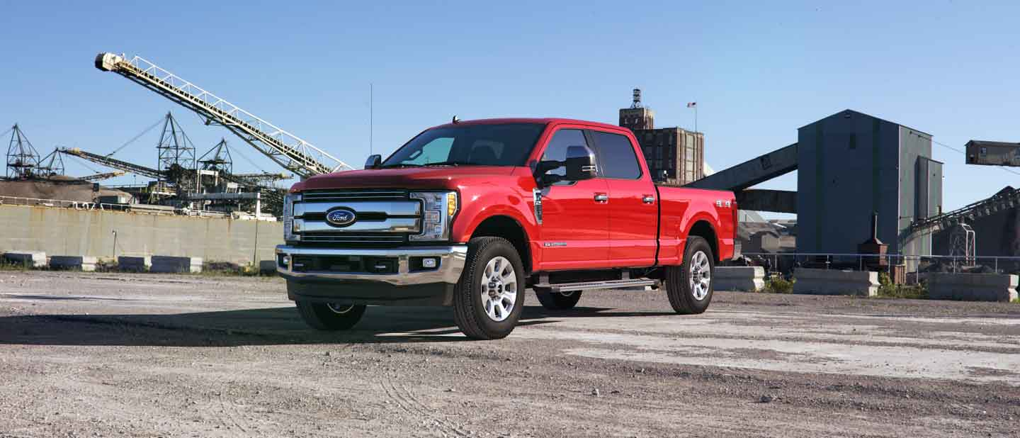 2019 Ford Super Duty Race Red Exterior Color