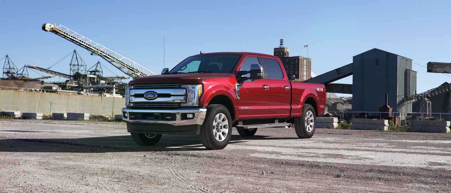 2019 Ford Super Duty Ruby Red Exterior Color