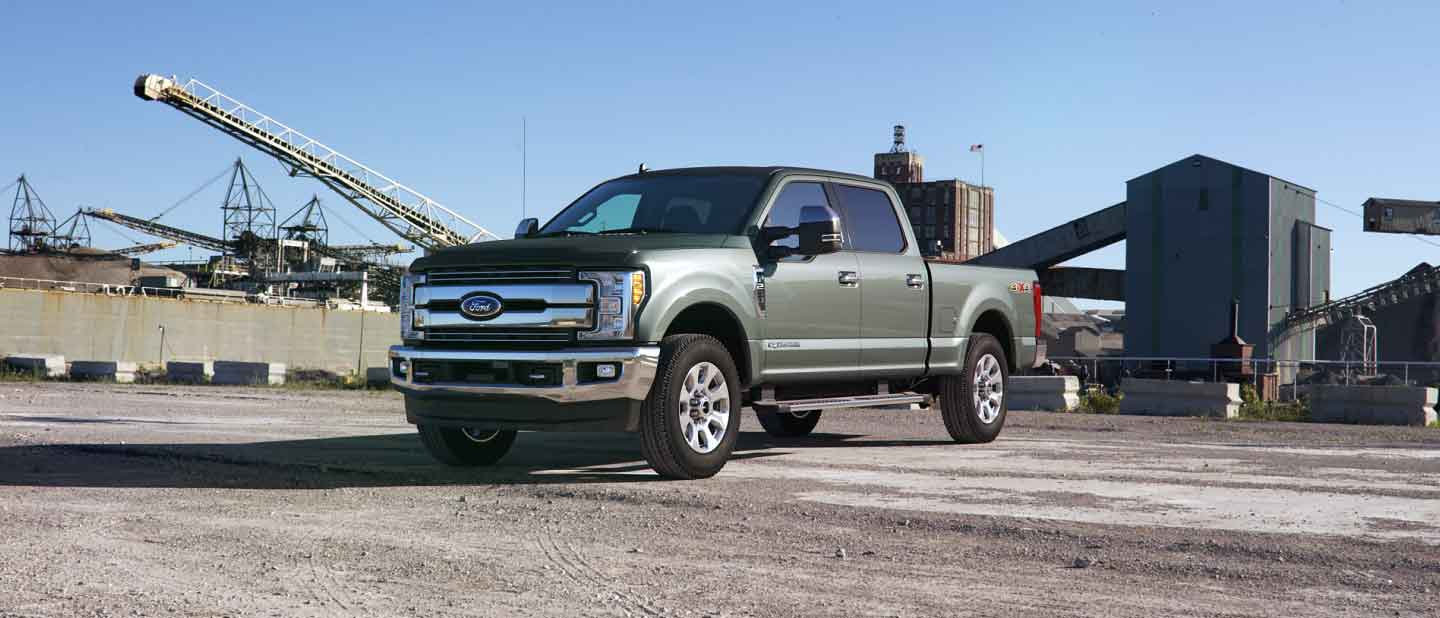2019 Ford Super Duty Silver Spruce Exterior Color
