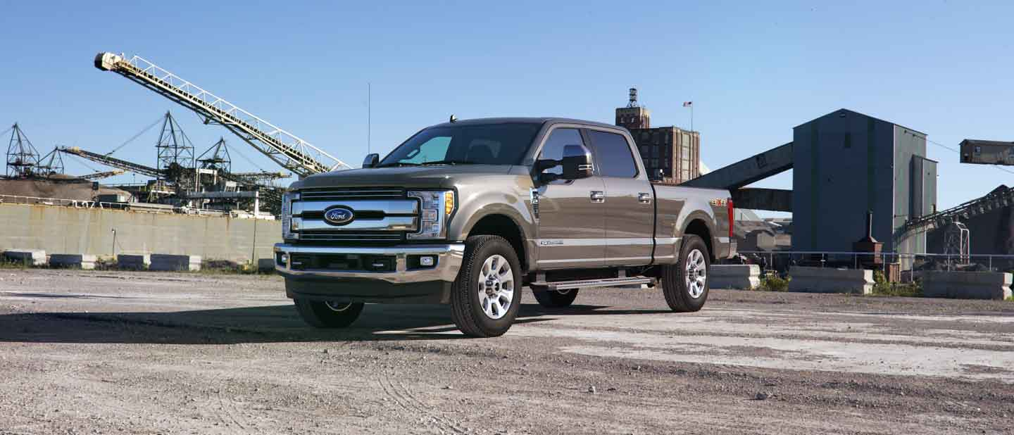 2019 Ford Super Duty Stone Gray Exterior Color