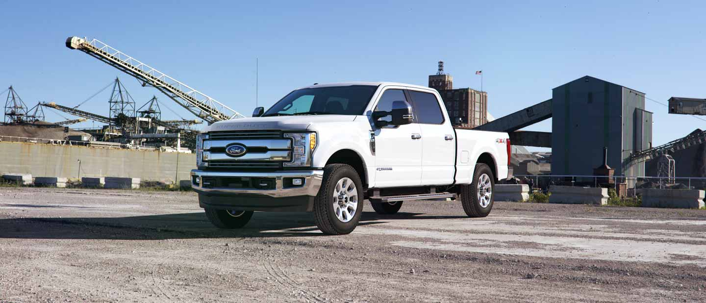 2019 Ford Super Duty White Platinum Exterior Color