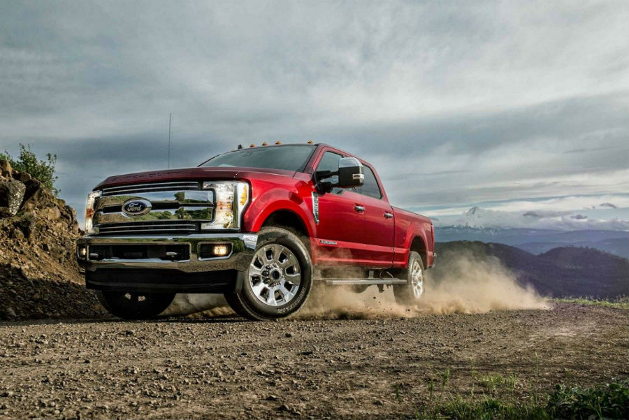 2019 Ford Super Duty Lineup Engine and Powertrain Features